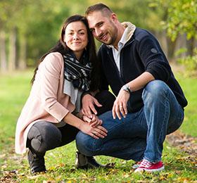 Emanuel mit seiner Frau