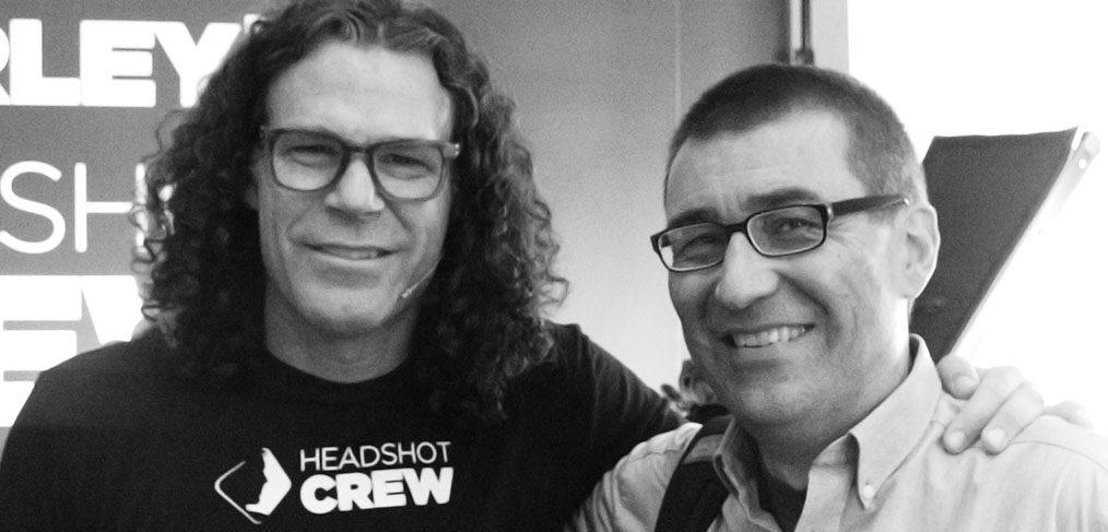 Peter Hurley und Michael Omori Kirchner