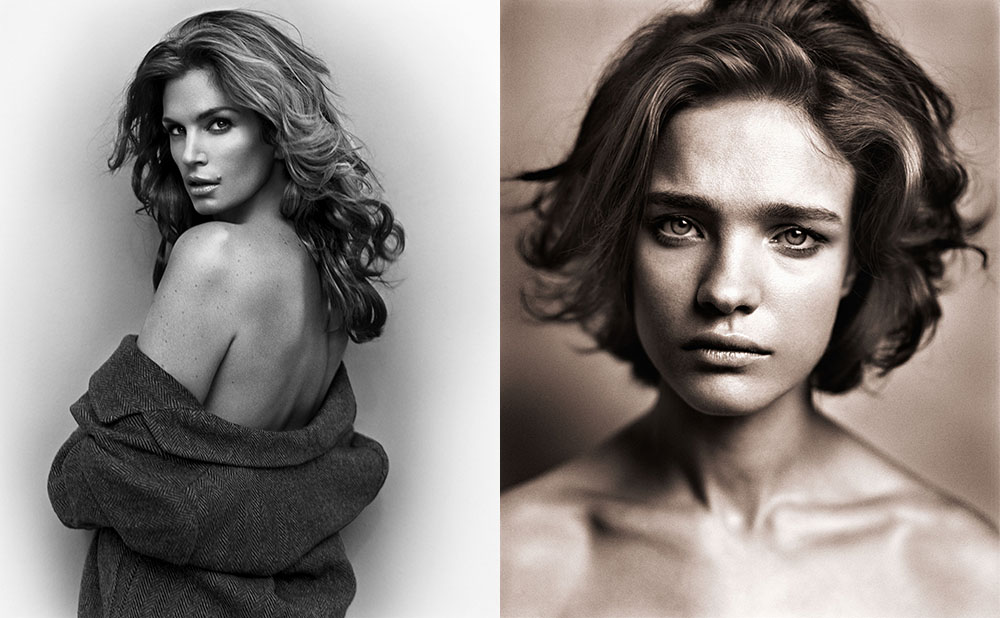Cindy Crawford / Natalia Vodianova © Vincent Peters