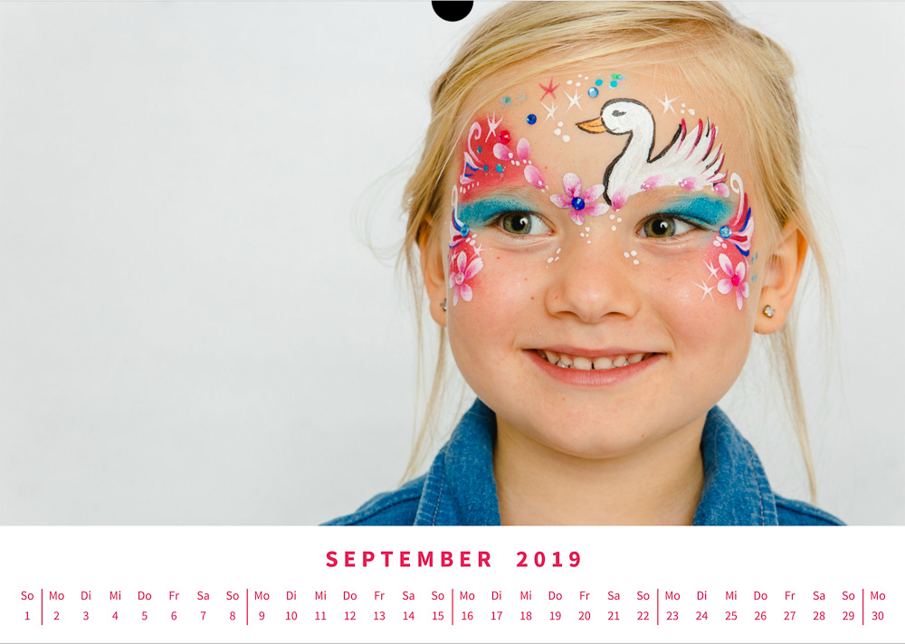 Kinderschminken Miri