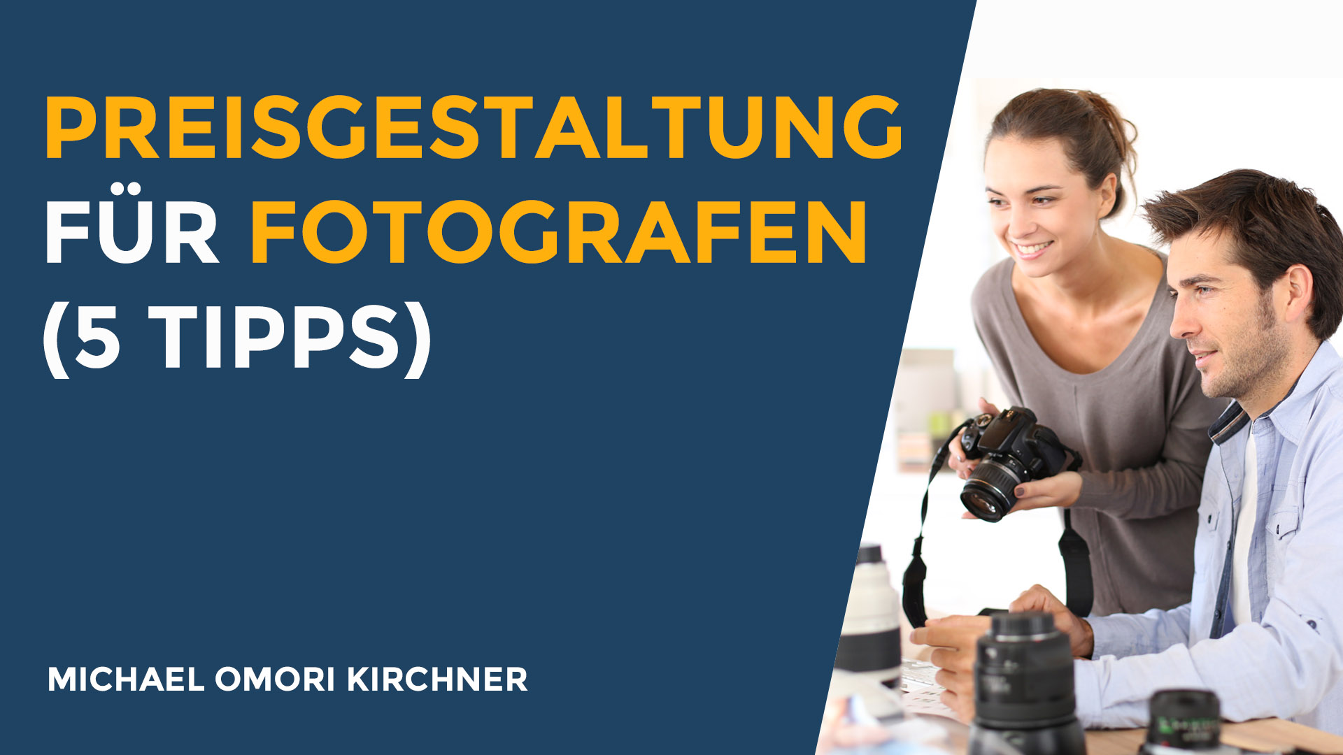 Preisgestaltung für Fotografen